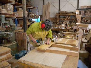 上野村森林組合木工工房